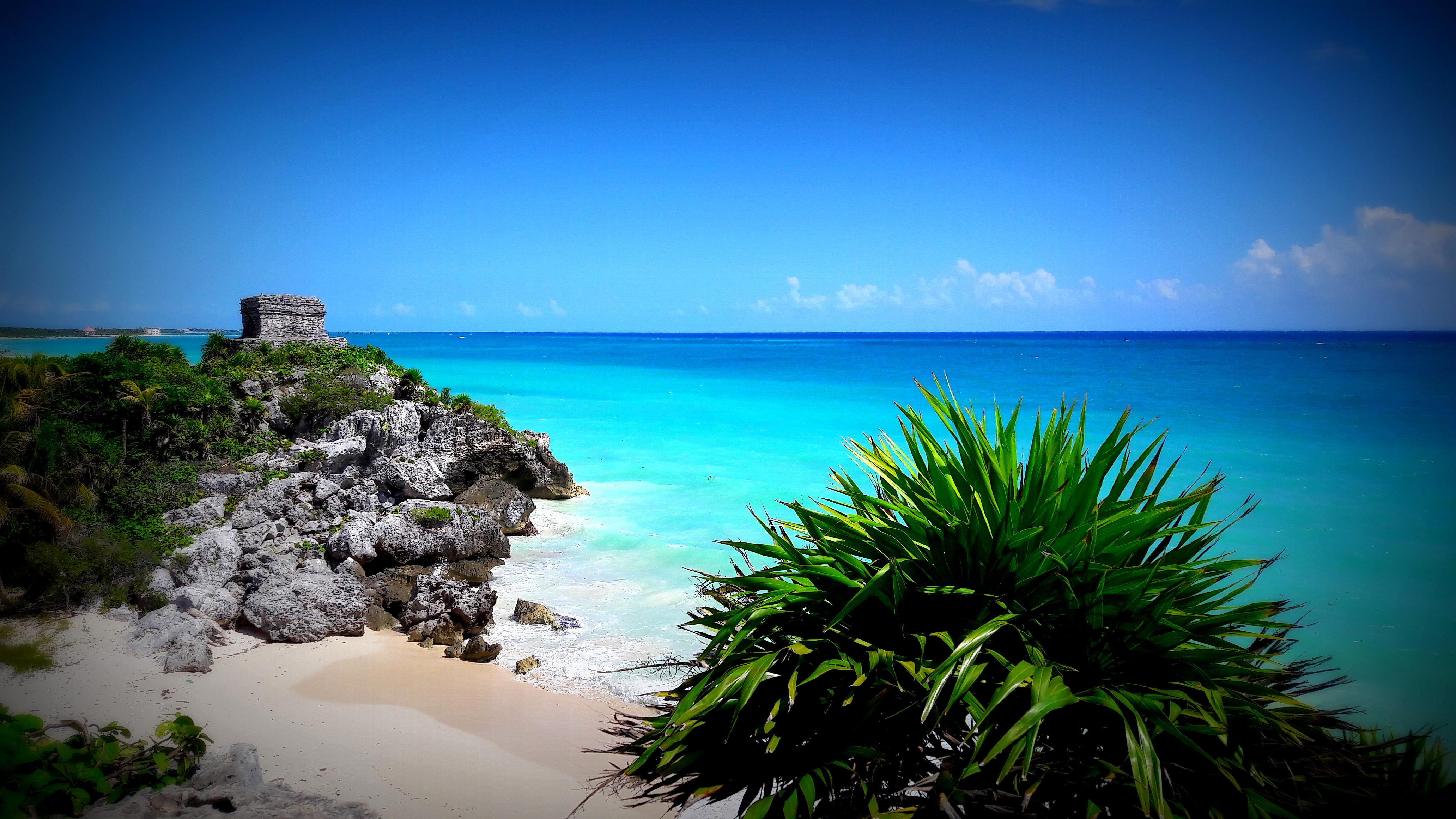 Mexican beach caribbean sea archeological mayan 1458205 pxhere